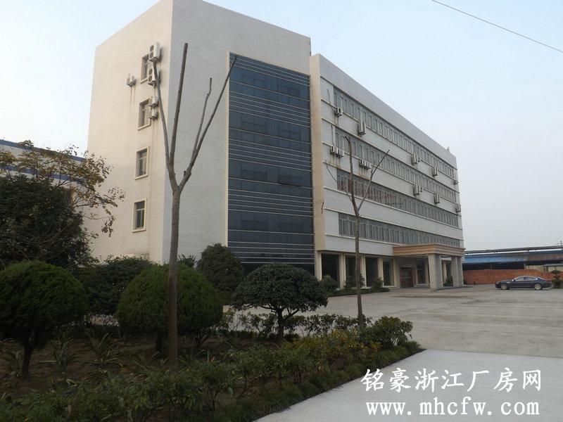 萧山机场西大门1200方单层钢结构厂房和5000方办公楼